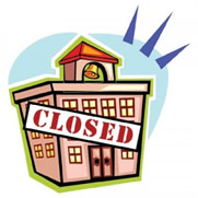 Image result for school is closed