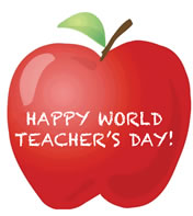 Image result for world teacher day